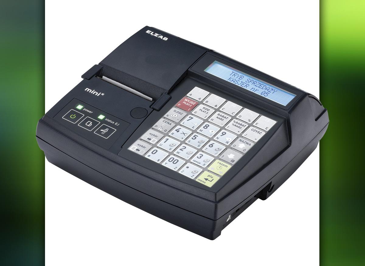 Mini E - kasa fiskalna Elzab