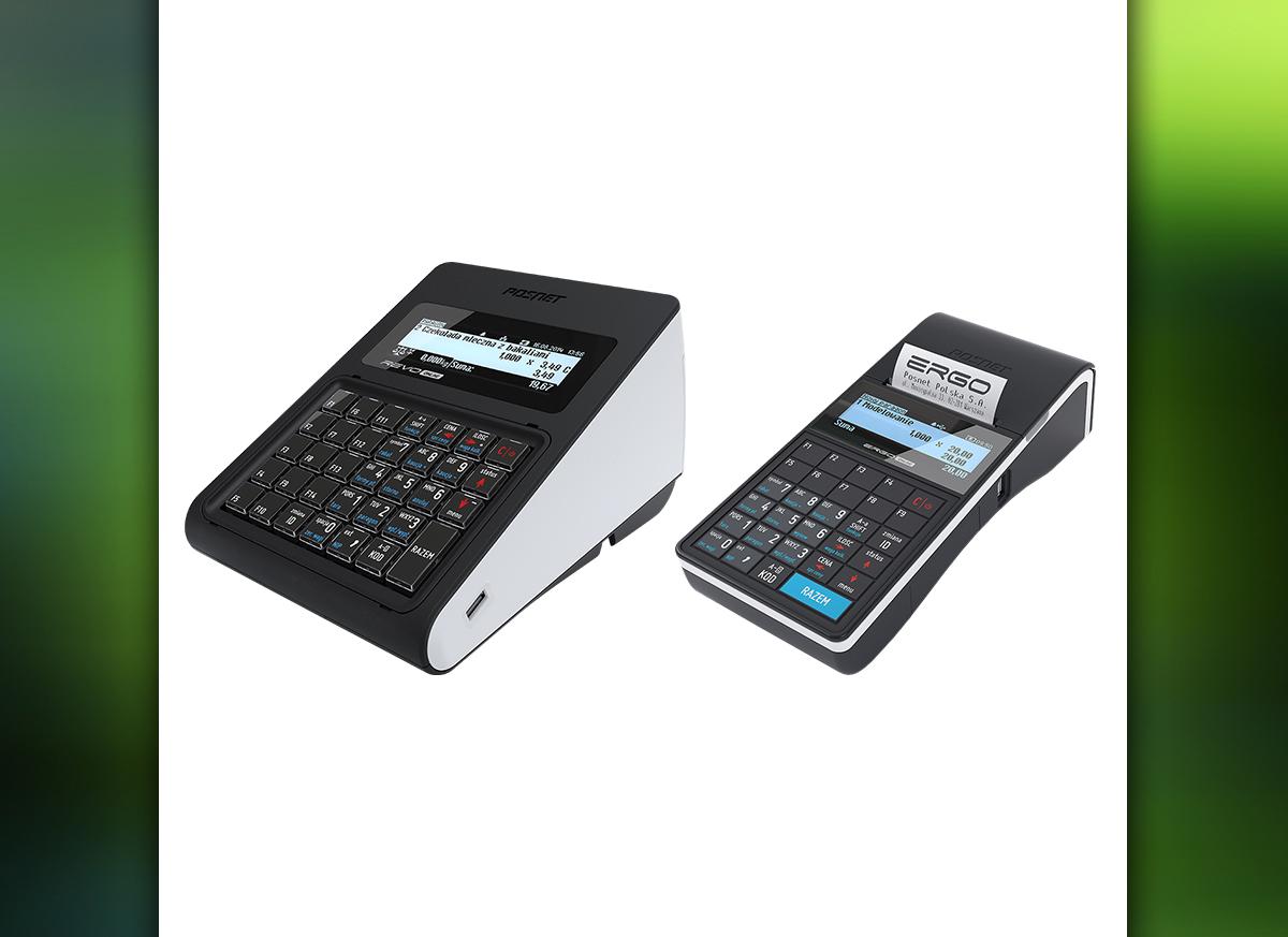 Posnet Revo Online i Posnet Ergo Online - modele z funkcją kaso-wagi